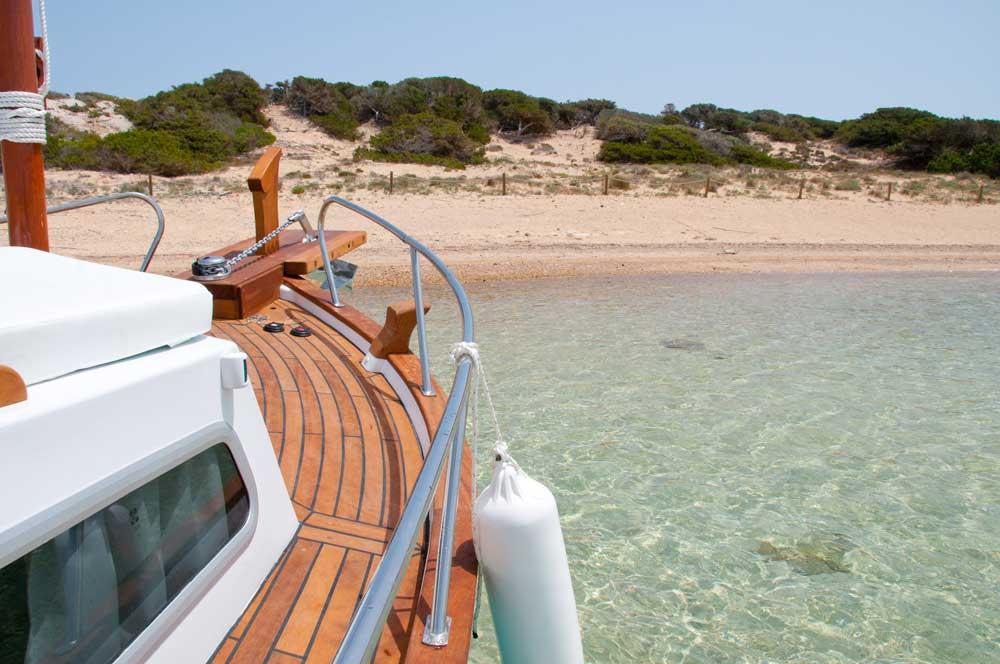 Llaut en Formentera