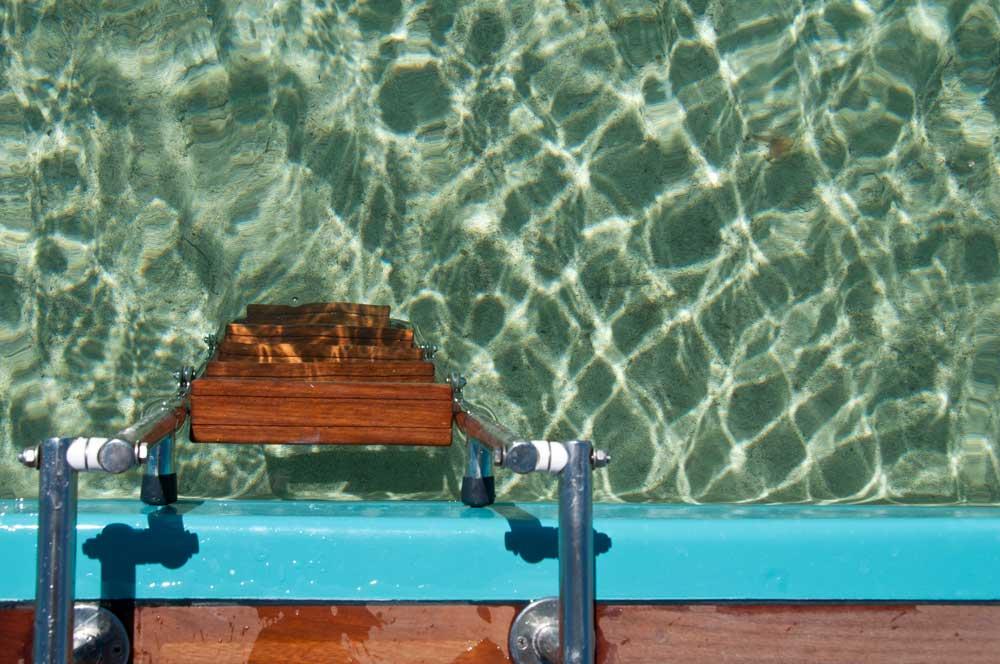Navegar en barco en Formentera