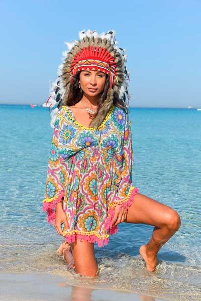 Pampita Formentera, Tienda ropa Es Pujols