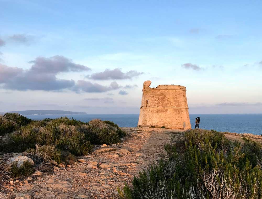 Vuelta a Formentera a pie