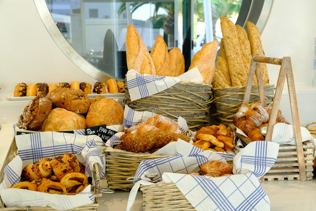 Blanco Hotel Formentera, desayuno