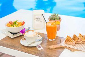 Café del Lago, desayuno