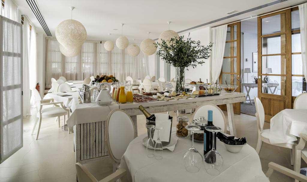 Hotel Es Mares, Formentera, desayuno
