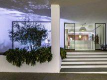 Hotel Es Mares, Formentera, entrada al hotel