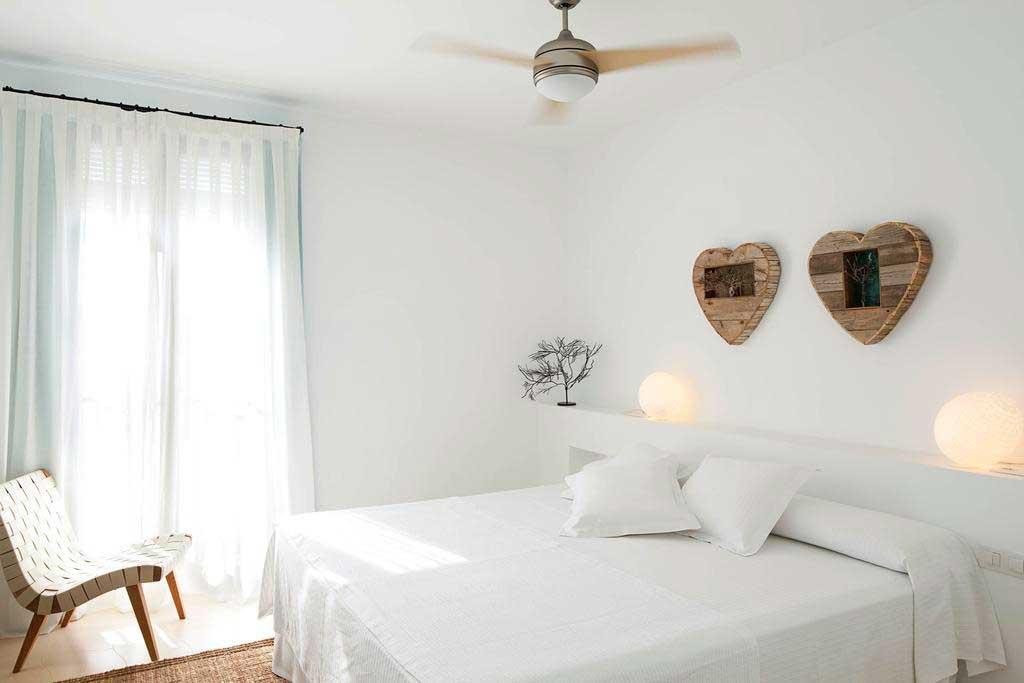 Hotel Es Mares, Formentera, Habitación doble luminosa