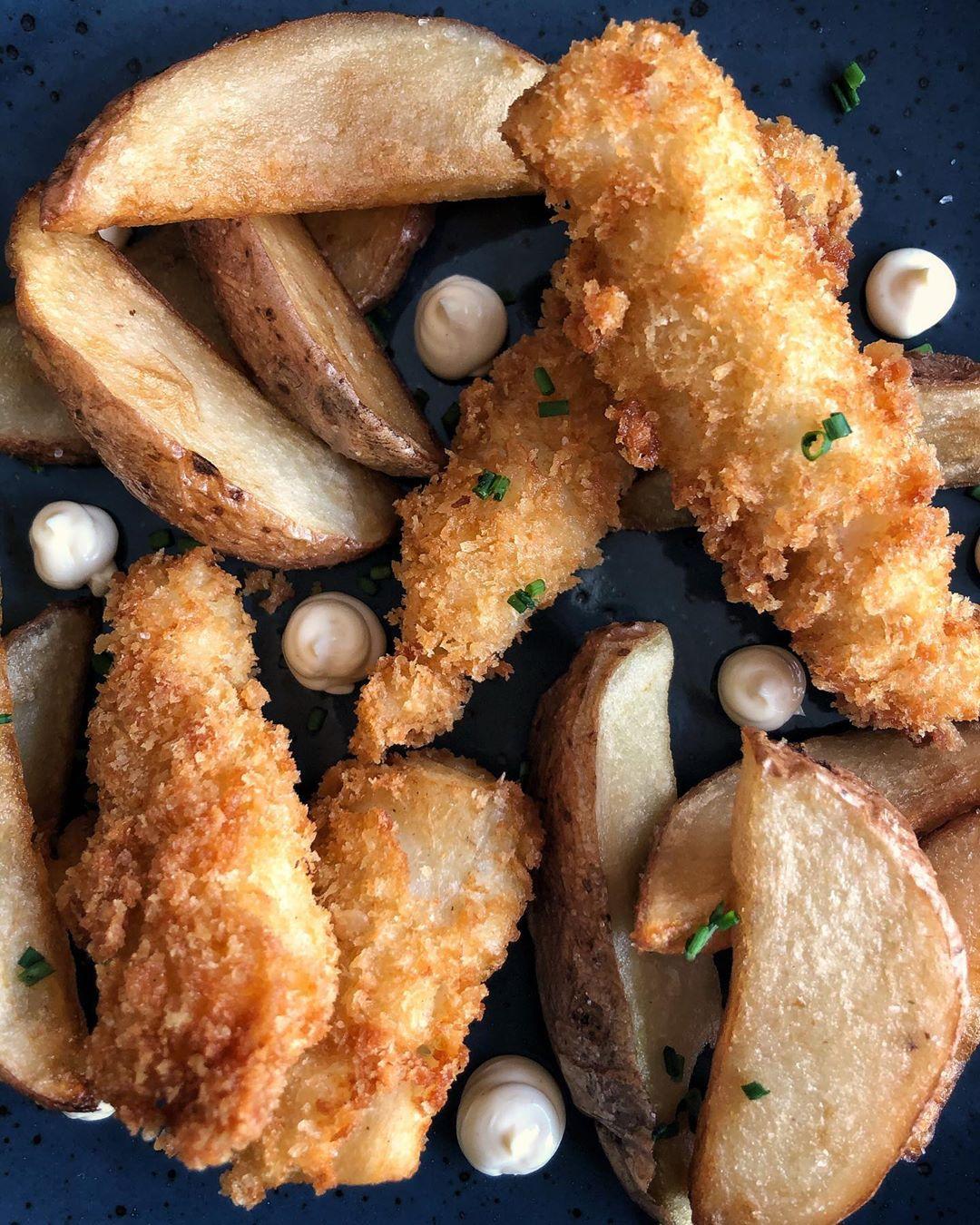Fritos en la Pezquería Fish Bar