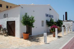 Can Carlitos Formentera, fachada