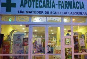 Farmacia Es Pujols-Llic Maiteder de Eguileor