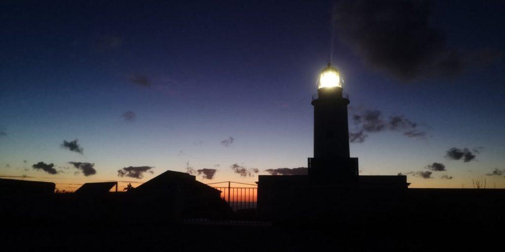 Faro di La Mola, alba