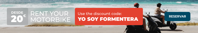 Prenota una moto accanto al tuo biglietto del traghetto a Formentera