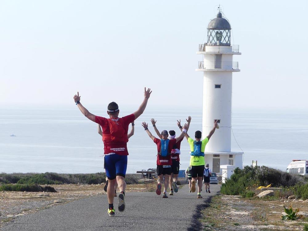 Media maratón en Formentera