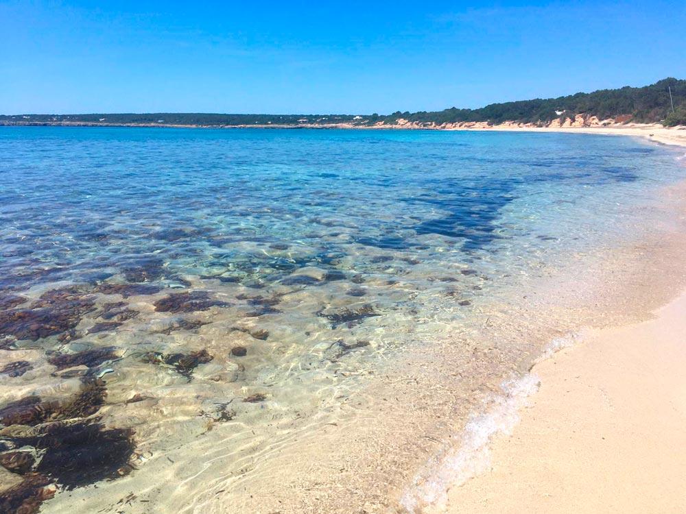 Playa Es Ca Marí, Formentera