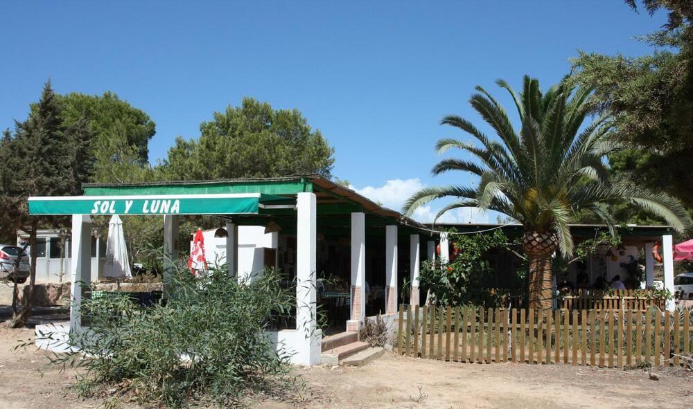 Restaurante Sol y Luna, Es Ca Marí. Migjorn
