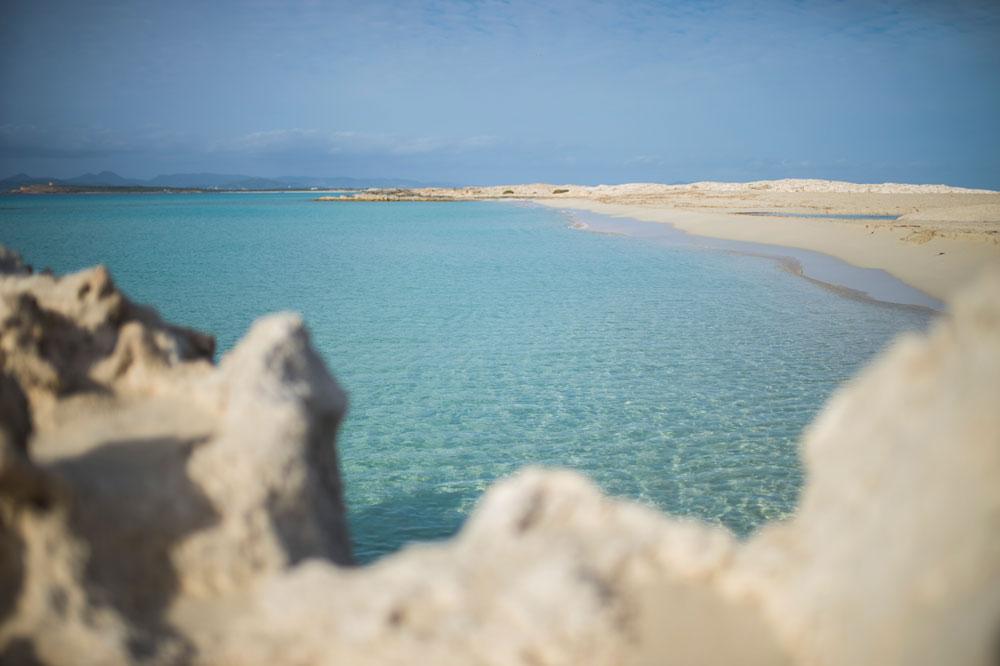 Playa Ses Illetes. Península Es Trucadors