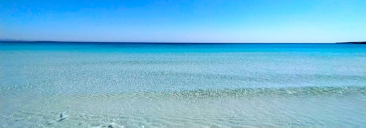Mar en Sa Roqueta, Es Pujols. Fotografía: @eclectik_a