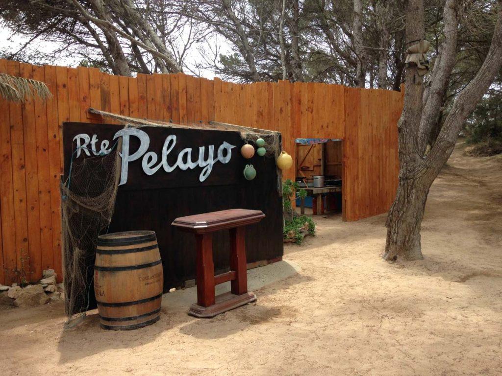 Restaurante chiringuito Pelayo en Formentera