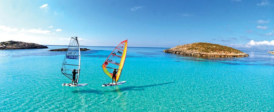 Centro Náutico Formentera, windsurf