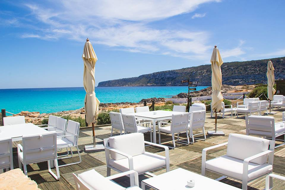 Restaurante Es Caló, vistas al mar