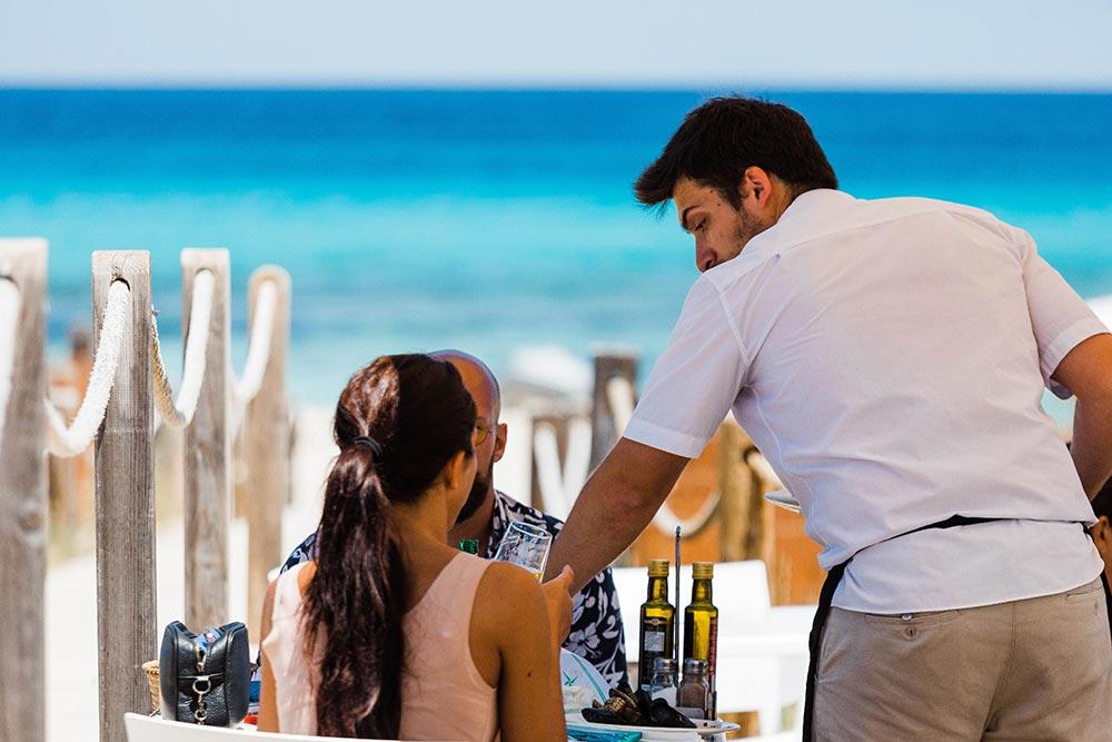 Restaurante chiringuito Tanga en Formentera