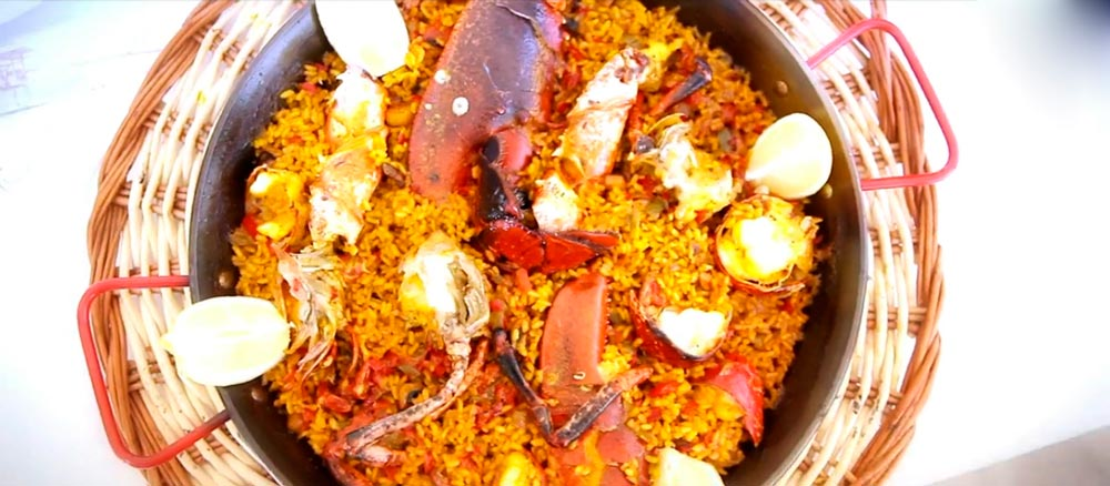 Paella en Restaurante Es Ministre
